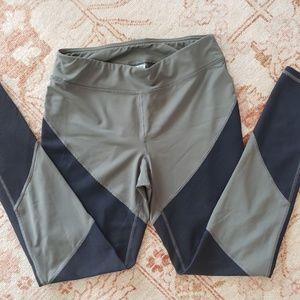 Champion Pants - Champion Olive Green Black Workout Set